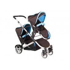WEİ-B WB 6000 Anstellig İkiz Bebek Arabası